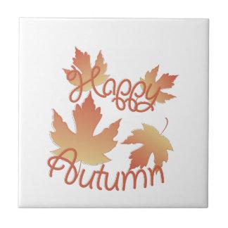 Happy Autumn Tile