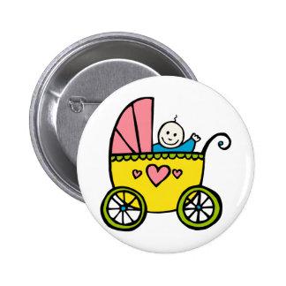 Happy Baby 2 Inch Round Button