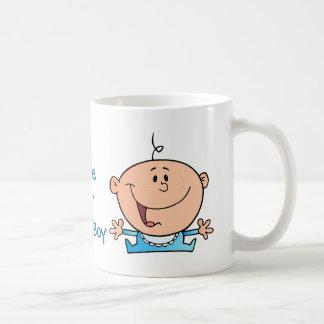 happy baby boy coffee mug