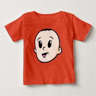 Happy Baby Face Baby T-Shirt