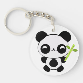 Happy Baby Panda Key Chain