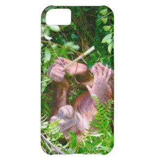Happy Baby Yoga Pose Orangutan iPhone 5C Covers