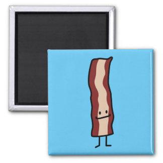 Happy Bacon Smirk Classic Design Magnet
