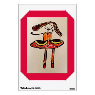 Happy Ballerina Wall Decal