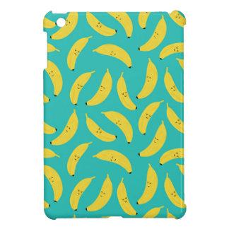 Happy Bananas Cute Fruit Pattern iPad Mini Cover