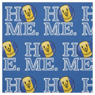 Happy Barbados Flag Housewarming Fabric