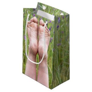 Happy Bare Feet Small Gift Bag