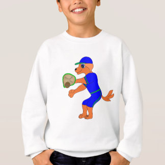 Happy Baseball by The Happy Juul Company Sweatshirt