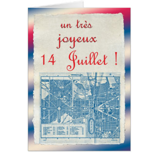Happy Bastille Day Card