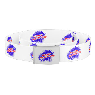 Happy Bastille Day Graphic Belt