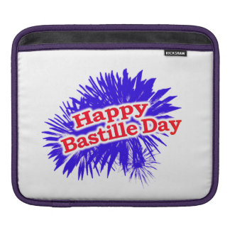 Happy Bastille Day Graphic iPad Sleeve