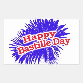 Happy Bastille Day Graphic Logo Sticker