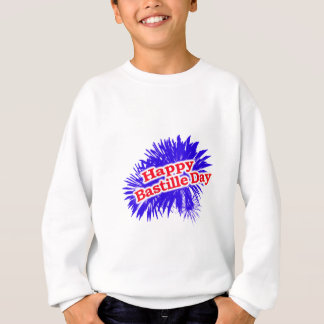Happy Bastille Day Graphic Sweatshirt
