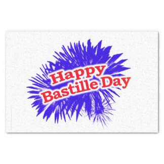 Happy Bastille Day Graphic Tissue Paper