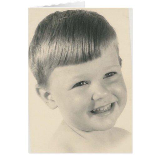Happy Bday Little Cutie Greeting Card