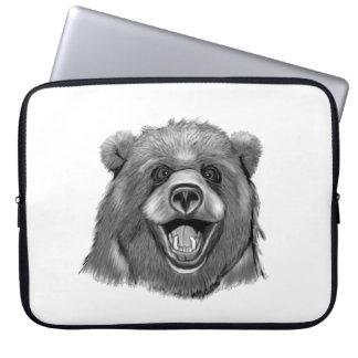 Happy  Bear Computer Sleeves
