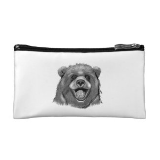 Happy  Bear Cosmetic Bag
