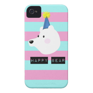 Happy Bear marries iPhone 4 Case