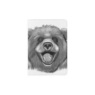 Happy  Bear Passport Holder