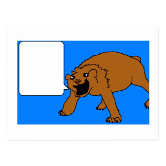Happy Bear Postcard