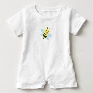 Happy Bee Baby Romper