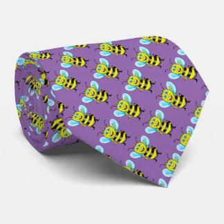 Happy Bee Tie