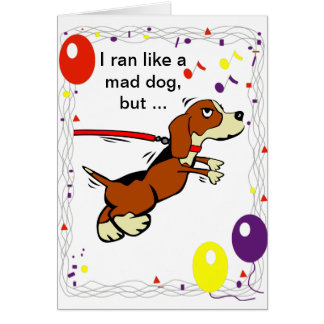 Happy Belated Birthday Card