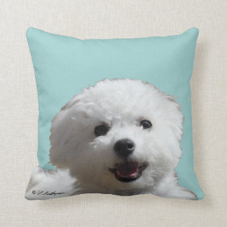 Happy Bichon Pillow