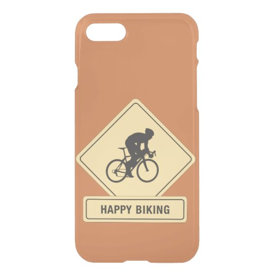 Happy Biking iPhone 7 Clear Case