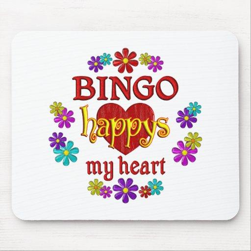 Happy BINGO Mousepad