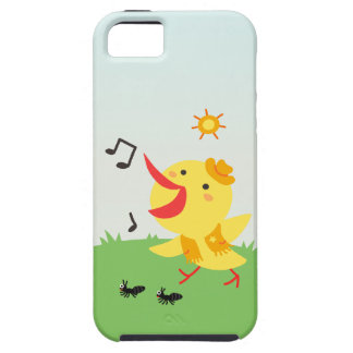 Happy Bird and Ants Case For The iPhone 5
