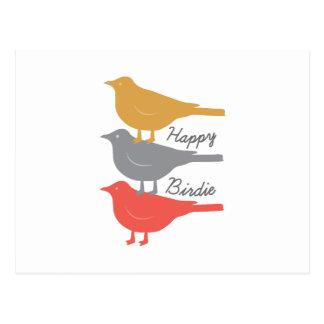 Happy Birdie Postcards
