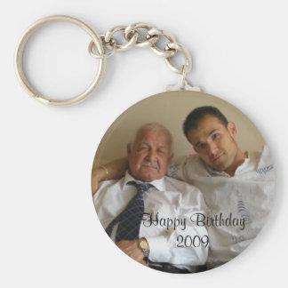 Happy Birthday 2009 Keychain