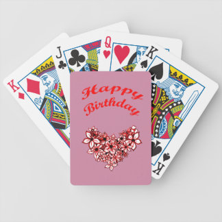 Happy Birthday 2 Bicycle Playing Cards