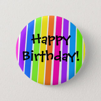 Happy Birthday! 2 Inch Round Button