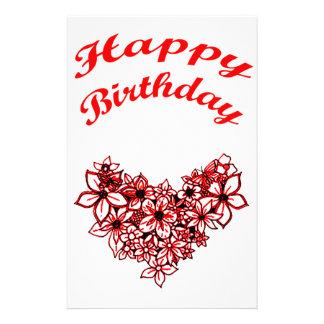 Happy Birthday 2 Stationery