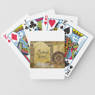 Happy-Birthday #3 Bicycle Playing Cards