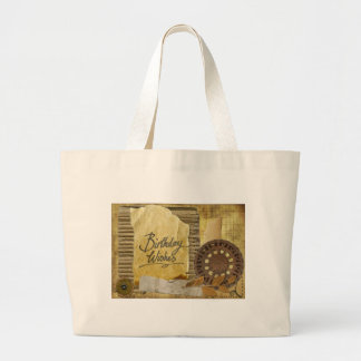 Happy-Birthday #3 Large Tote Bag