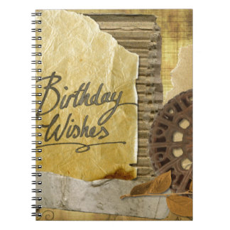 Happy-Birthday #3 Notebooks