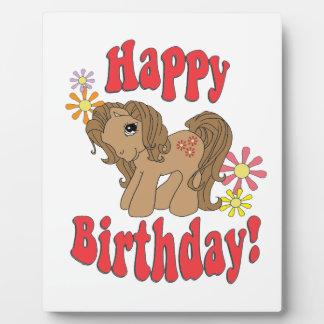 Happy Birthday 4 Plaque