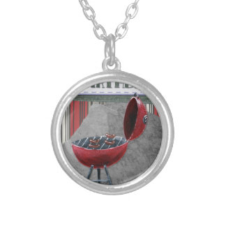 Happy-Birthday #4 Silver Plated Necklace
