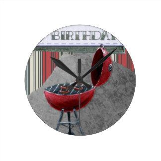 Happy-Birthday #4 Wall Clock