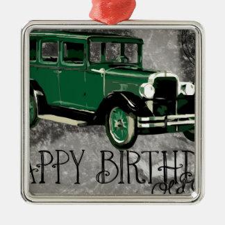 Happy-Birthday #5 Metal Ornament