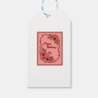 Happy Birthday 6 Gift Tags