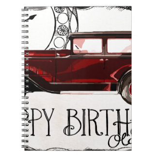Happy-Birthday #6 Notebook