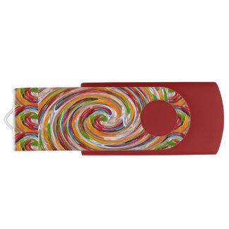 Happy BIRTHDAY 8-64 USB 3.0 Swivel USB Flash Drive Swivel USB 3.0 Flash Drive