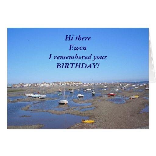 Happy Birthday Add NAME Greeting Cards