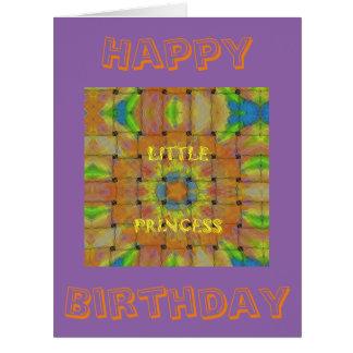 Happy Birthday Amazing Little Princess Card