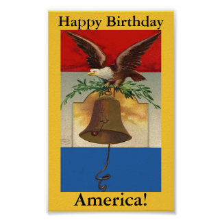Happy Birthday, America! Poster