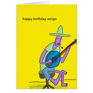 Happy Birthday Amigo Card